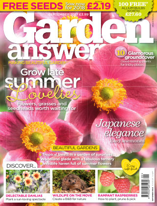 Garden Answers September 2017