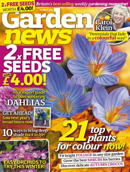 Garden News September 30, 2014 00:00