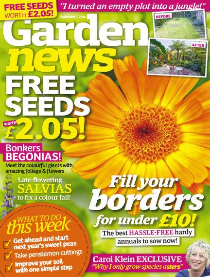 Garden News September 02, 2014 00:00