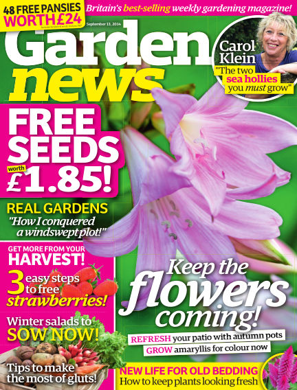 Garden News September 09, 2014 00:00
