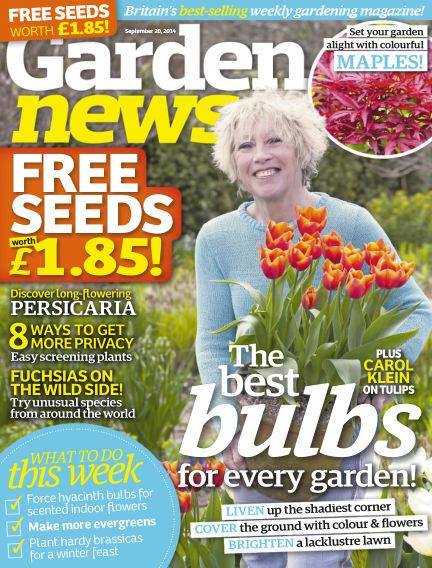 Garden News September 16, 2014 00:00