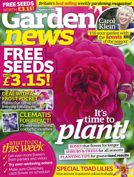Garden News September 23, 2014 00:00