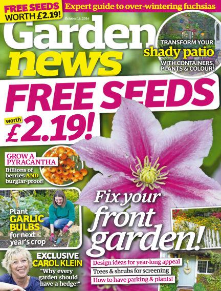 Garden News October 14, 2014 00:00