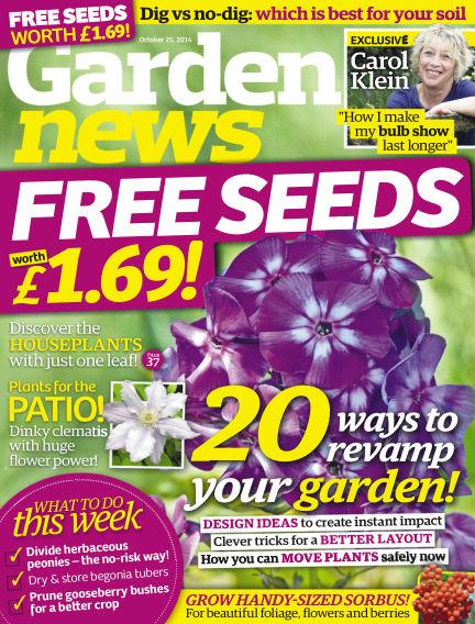 Garden News October 21, 2014 00:00