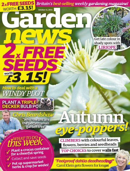 Garden News October 07, 2014 00:00