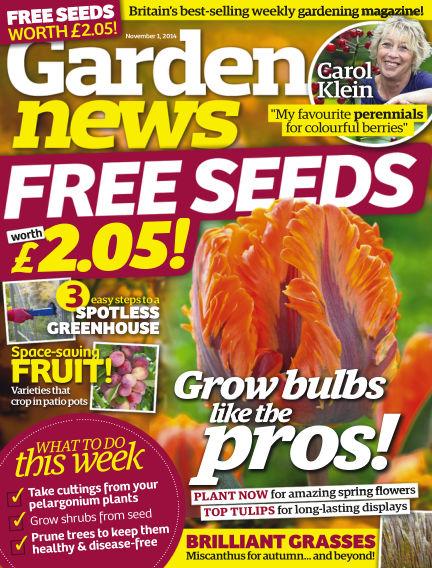 Garden News October 28, 2014 00:00