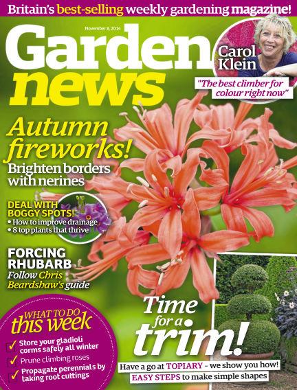 Garden News November 04, 2014 00:00
