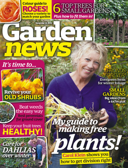 Garden News November 11, 2014 00:00
