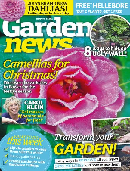 Garden News November 25, 2014 00:00