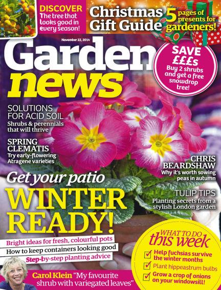 Garden News November 18, 2014 00:00