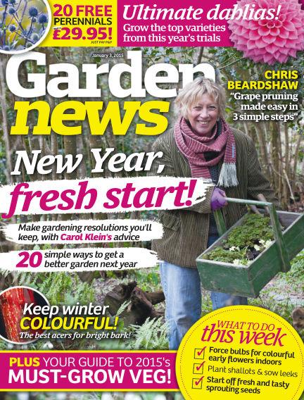 Garden News December 30, 2014 00:00