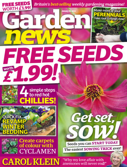 Garden News January 20, 2015 00:00