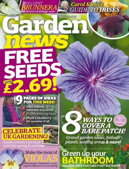 Garden News February 10, 2015 00:00