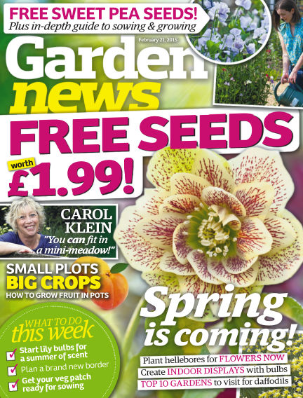 Garden News February 17, 2015 00:00