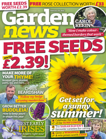 Garden News February 24, 2015 00:00