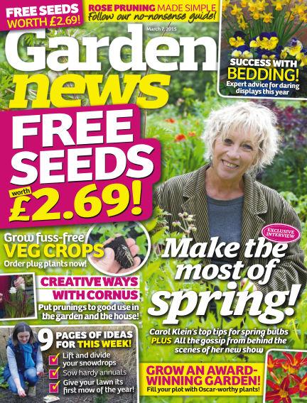 Garden News March 03, 2015 00:00