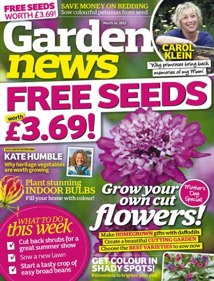 Garden News March 10, 2015 00:00