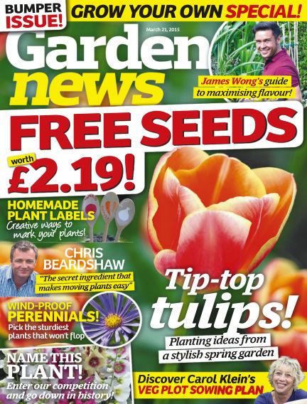Garden News March 17, 2015 00:00