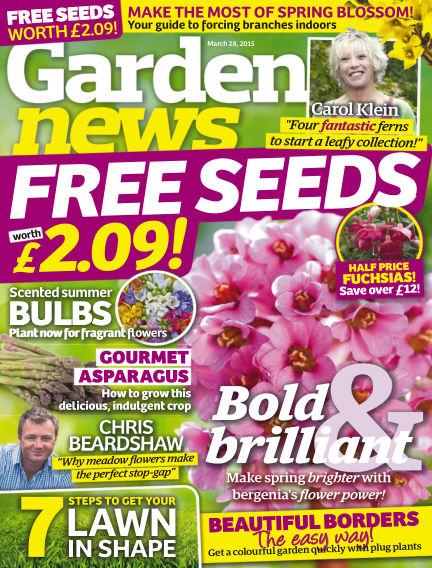 Garden News March 24, 2015 00:00