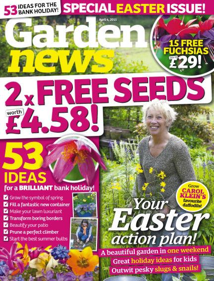 Garden News March 31, 2015 00:00