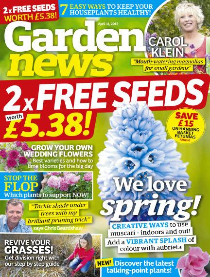 Garden News April 07, 2015 00:00