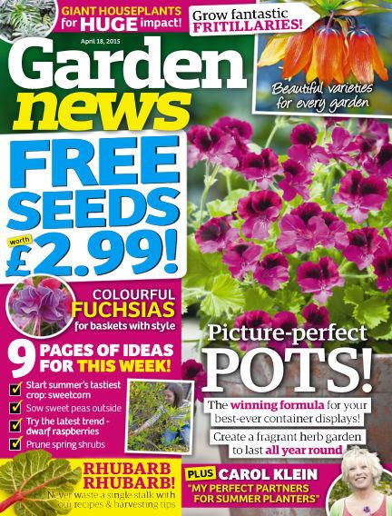 Garden News April 14, 2015 00:00