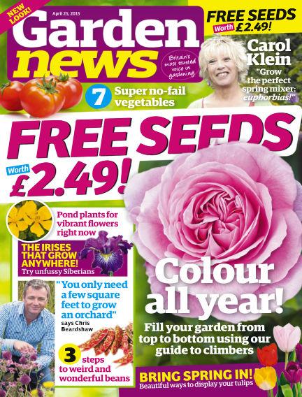 Garden News April 21, 2015 00:00