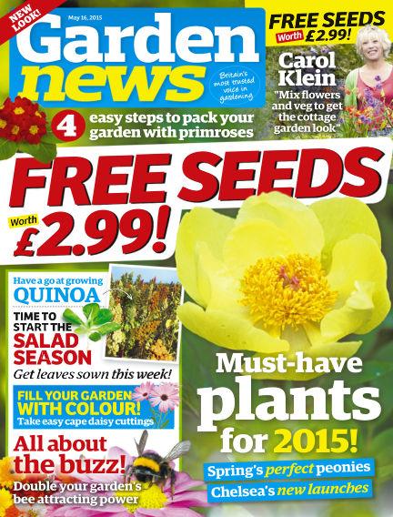 Garden News May 12, 2015 00:00