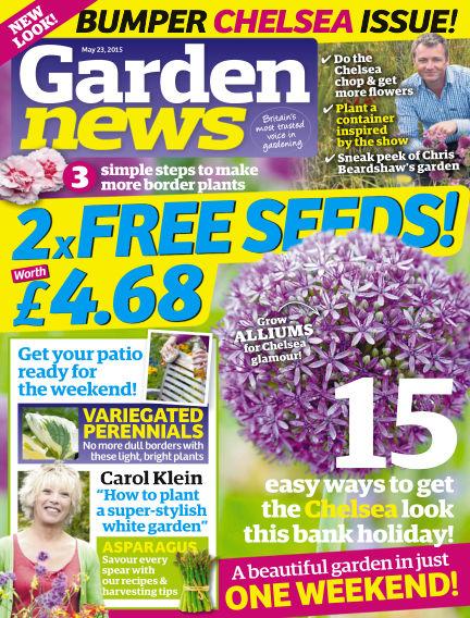 Garden News May 19, 2015 00:00