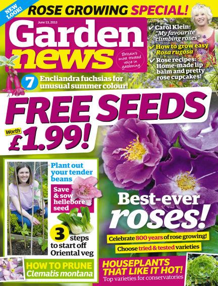 Garden News June 09, 2015 00:00