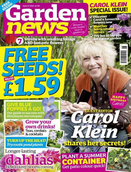 Garden News June 23, 2015 00:00