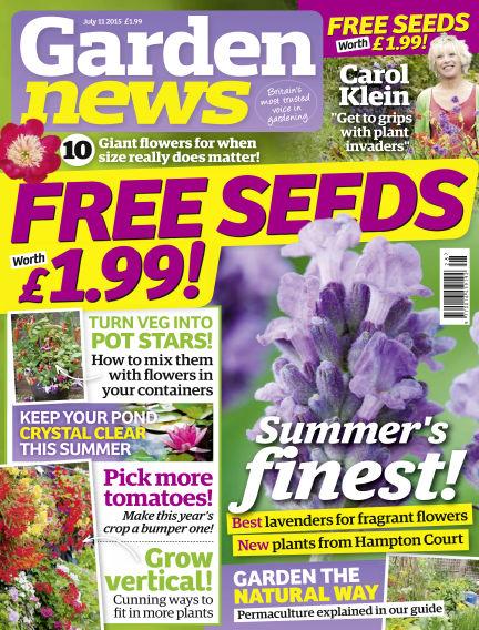 Garden News July 07, 2015 00:00