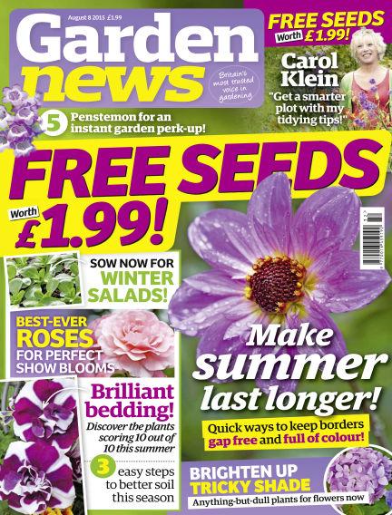 Garden News August 04, 2015 00:00