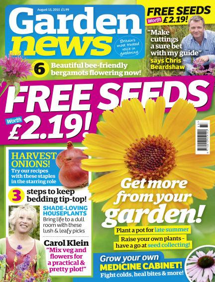 Garden News August 11, 2015 00:00