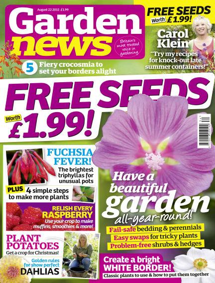 Garden News August 18, 2015 00:00