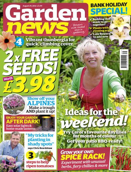 Garden News August 25, 2015 00:00