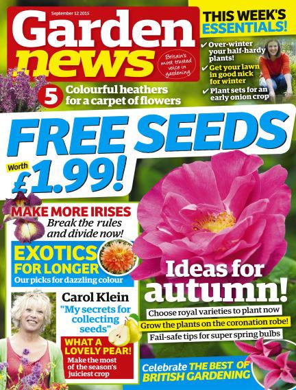 Garden News September 08, 2015 00:00