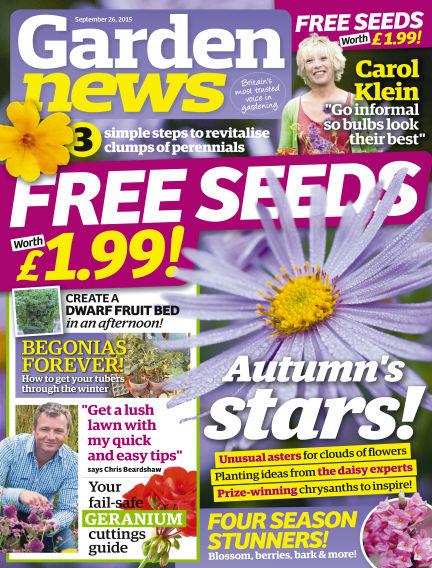 Garden News September 22, 2015 00:00