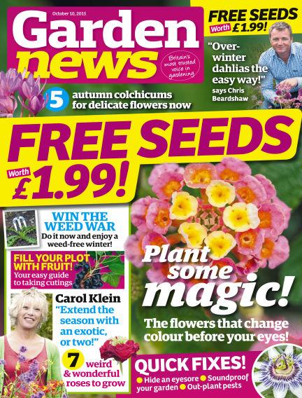 Garden News October 06, 2015 00:00