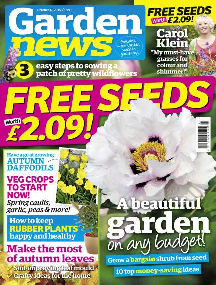 Garden News October 13, 2015 00:00