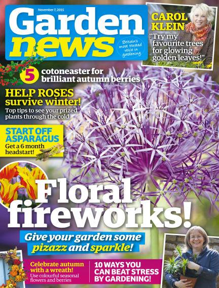 Garden News November 03, 2015 00:00