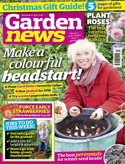 Garden News November 17, 2015 00:00