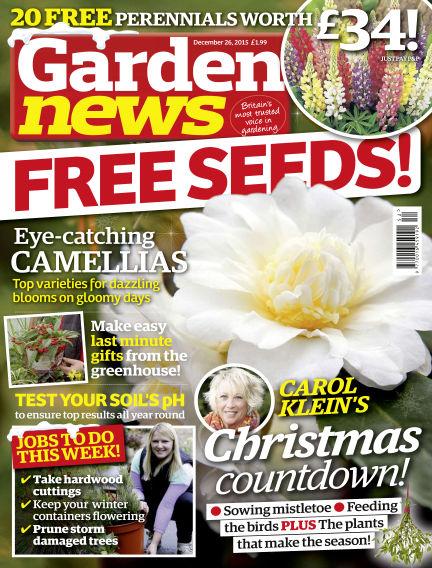 Garden News December 22, 2015 00:00