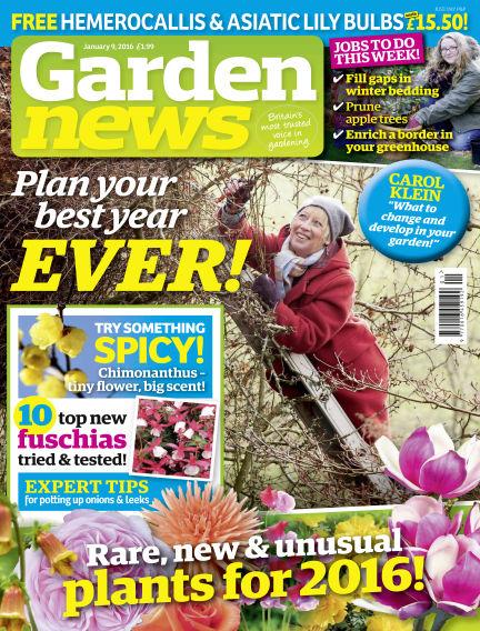 Garden News January 05, 2016 00:00