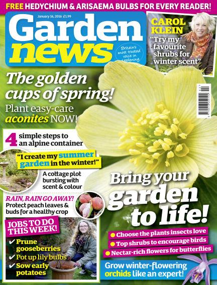 Garden News January 12, 2016 00:00