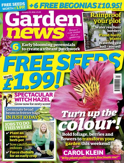 Garden News January 19, 2016 00:00