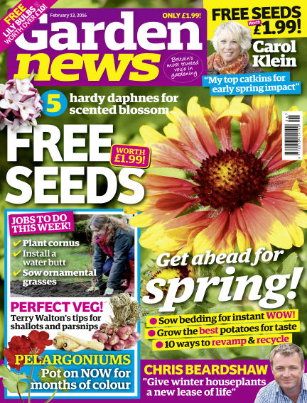 Garden News February 09, 2016 00:00