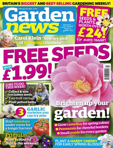 Garden News February 16, 2016 00:00