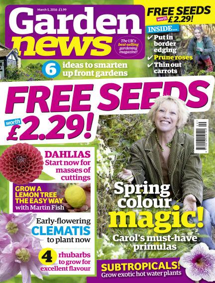 Garden News March 01, 2016 00:00