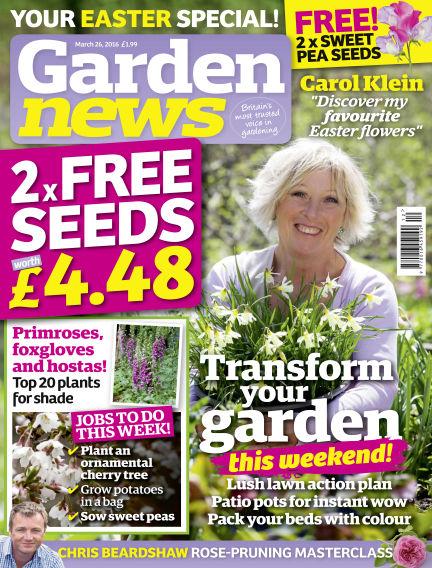 Garden News March 22, 2016 00:00
